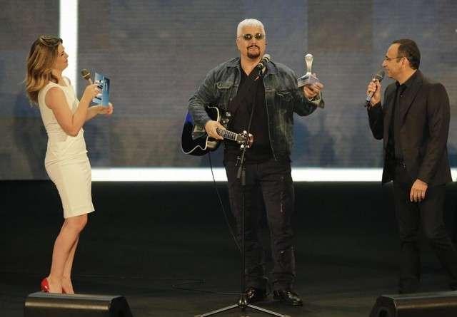 Pino Daniele ai Wind Music Awards