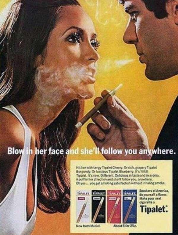 Pubblicità fumo
