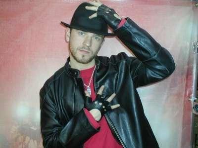 Anthony Whitehead sosia di Justin Timberlake