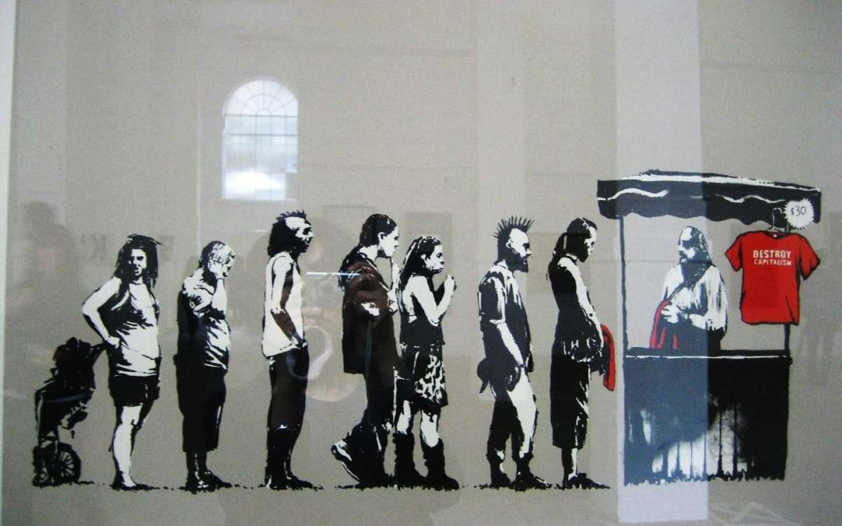 Banksy - Capitalism