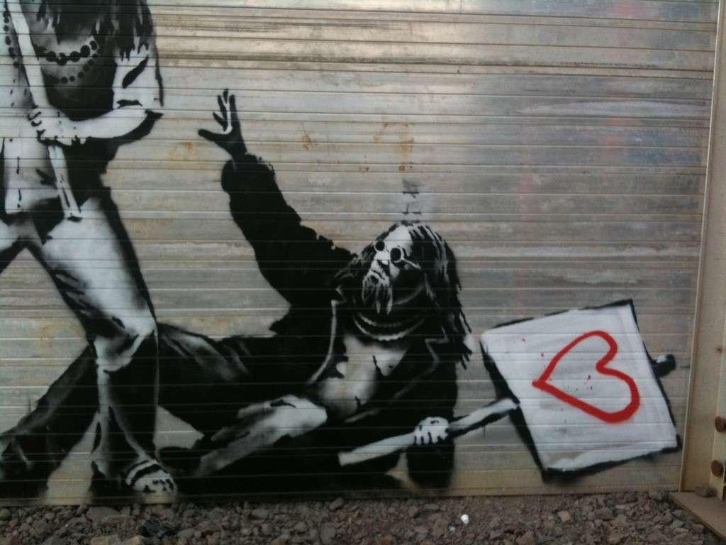 Banksy - Glastonbury