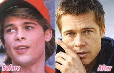 Brad Pitt: orecchie