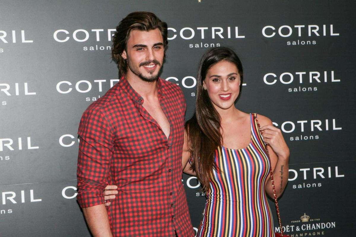 Cecilia Rodriguez con Francesco Monte