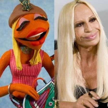Janice dei Muppets / Donatella Versace