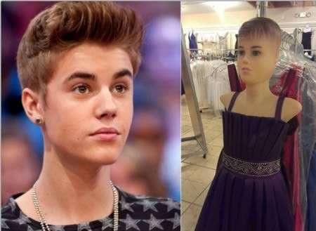 Justin Bieber / Manichino