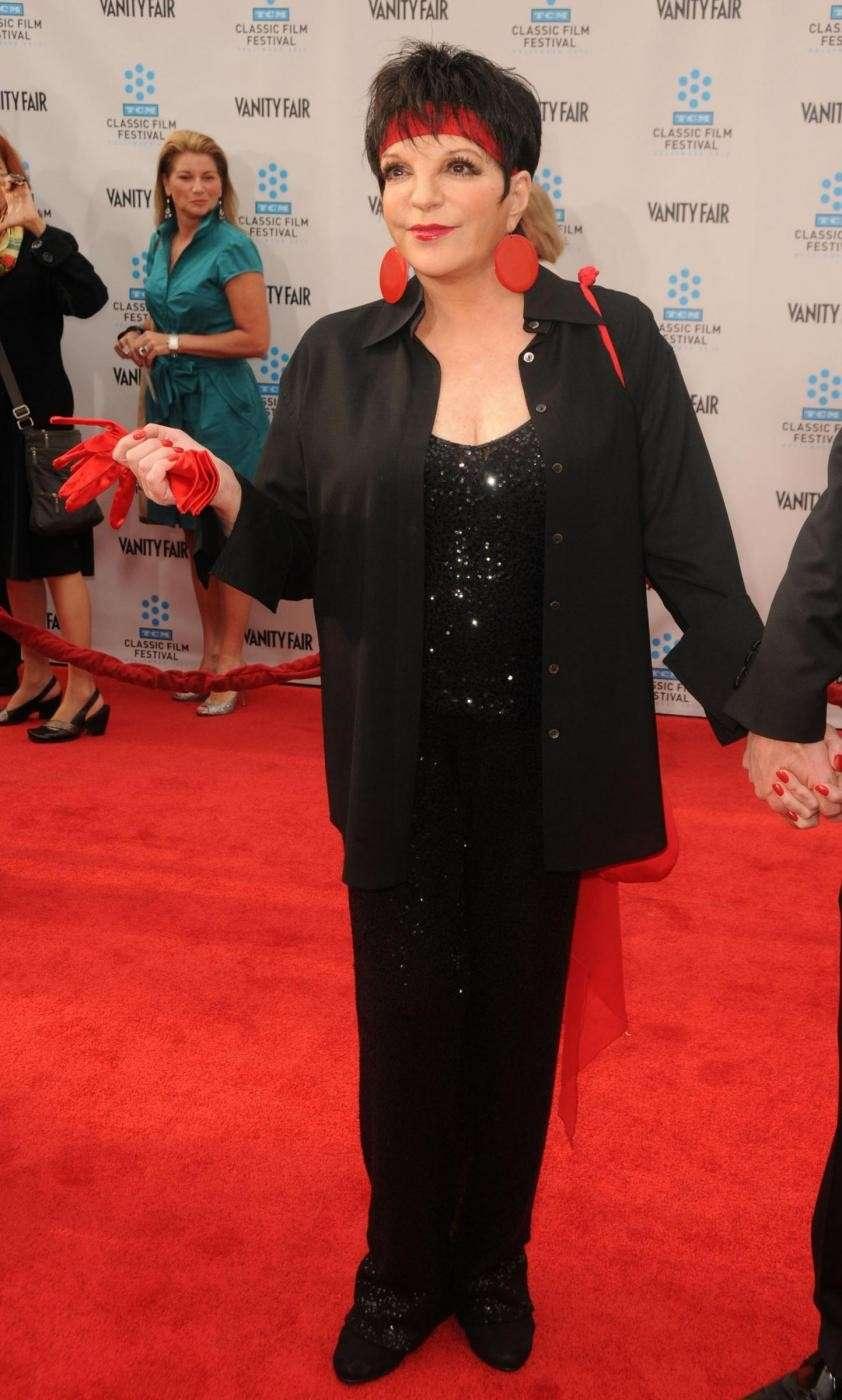 Liza Minelli sul red carpet