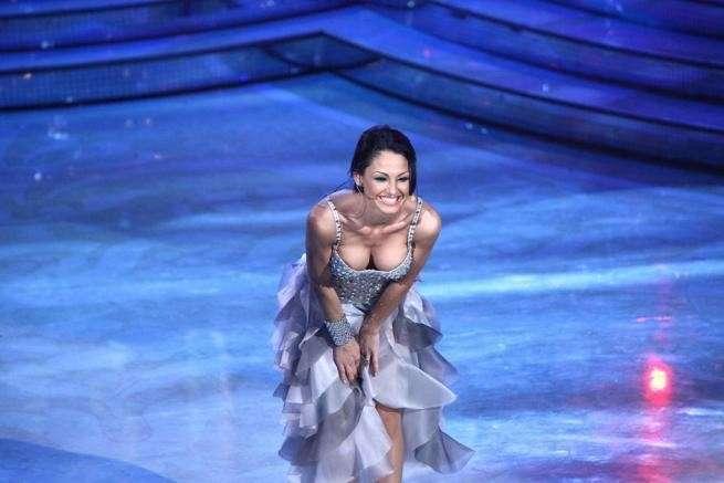 Anna Tatangelo ballerina