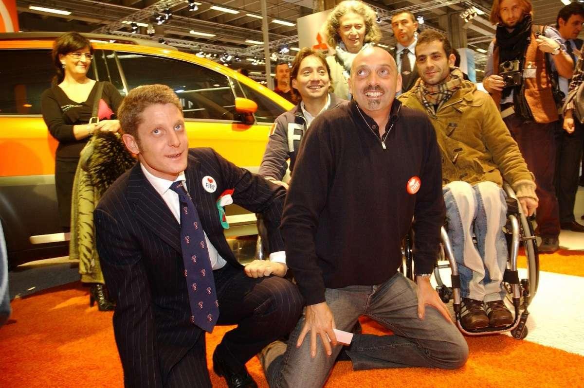 Paolo Brosio al Motorshow di Bologna
