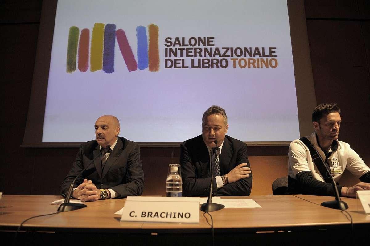 Paolo Brosio al salone internazionale del libro