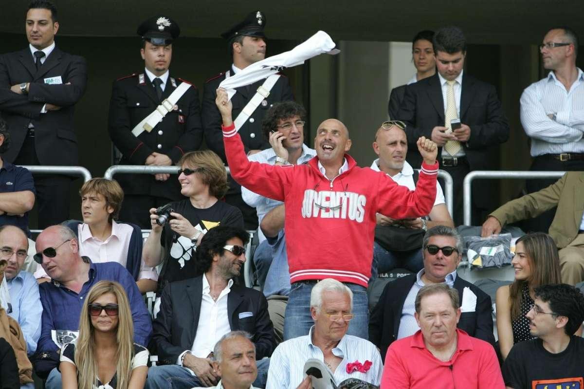 Paolo Brosio allo stadio