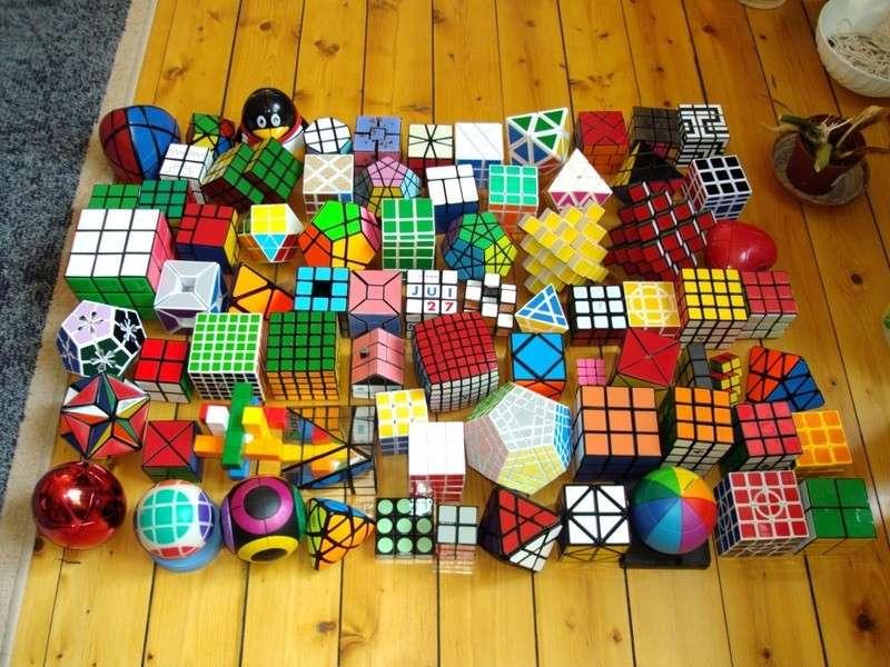 Collezione di Cubi di Rubik