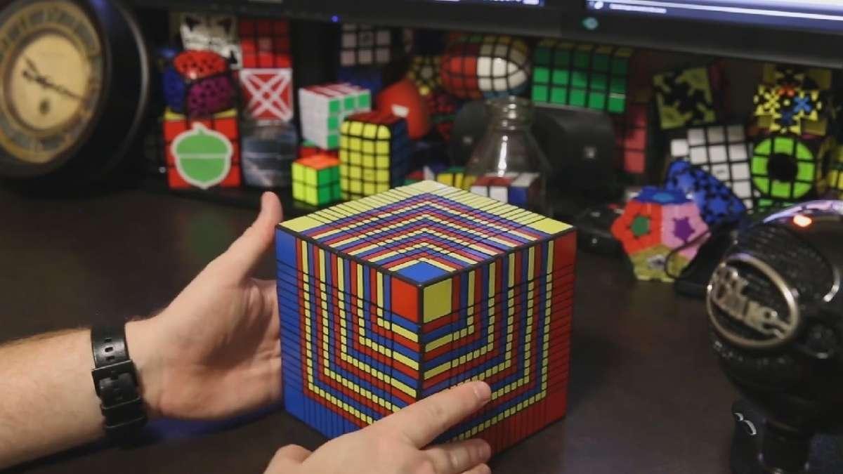Cubo di Rubik 17x17x17