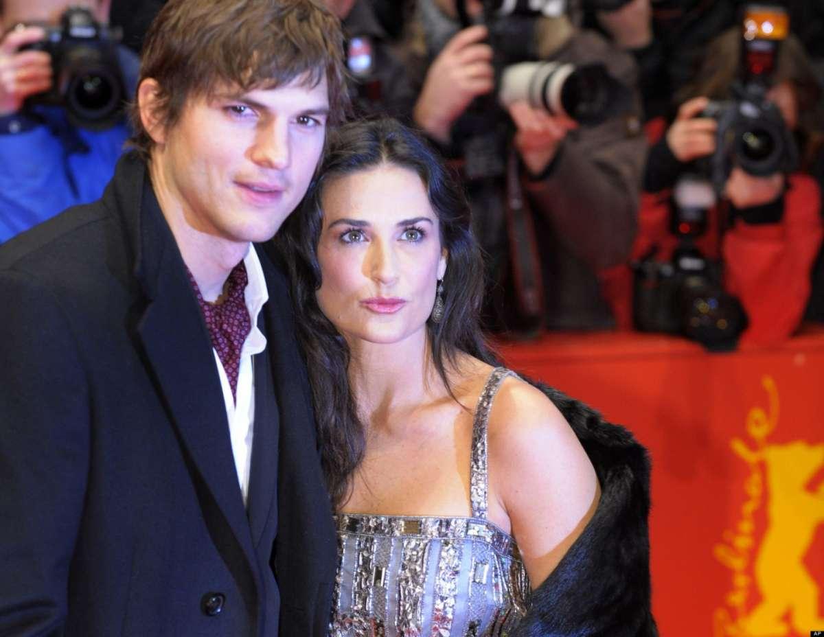 Demi Moore e Ashton Kutcher