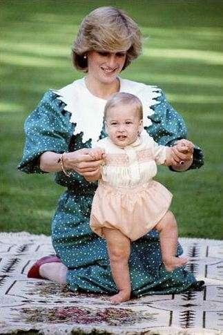 Principe William nel 1983