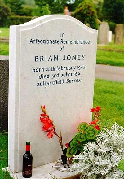 Tomba di Brian Jones dei Rolling Stones