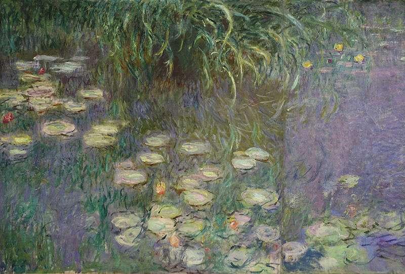 Claude Monet, Ninfee e Nuvole, 1920-1926