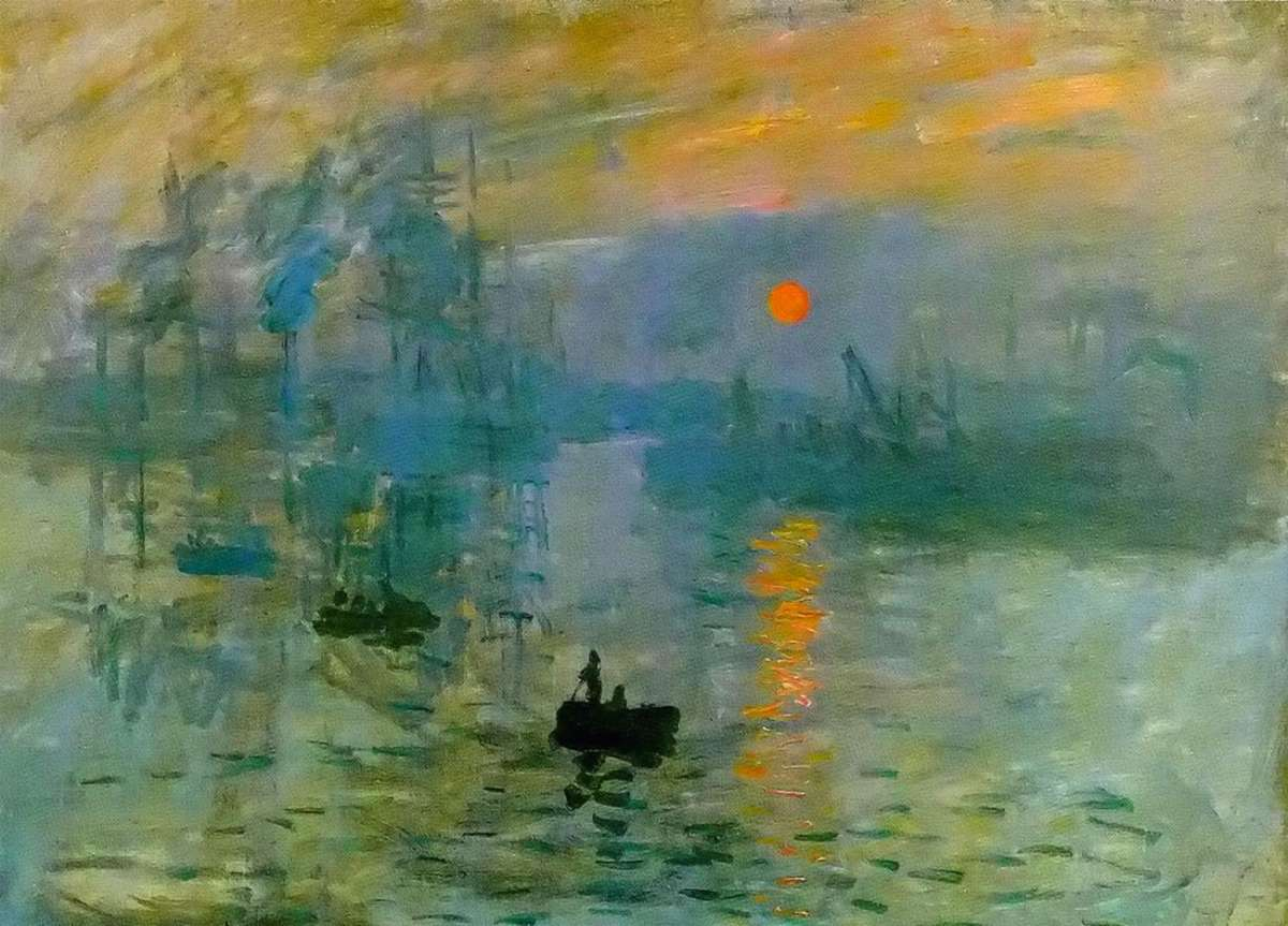 Impressione, levar del sole, 1872
