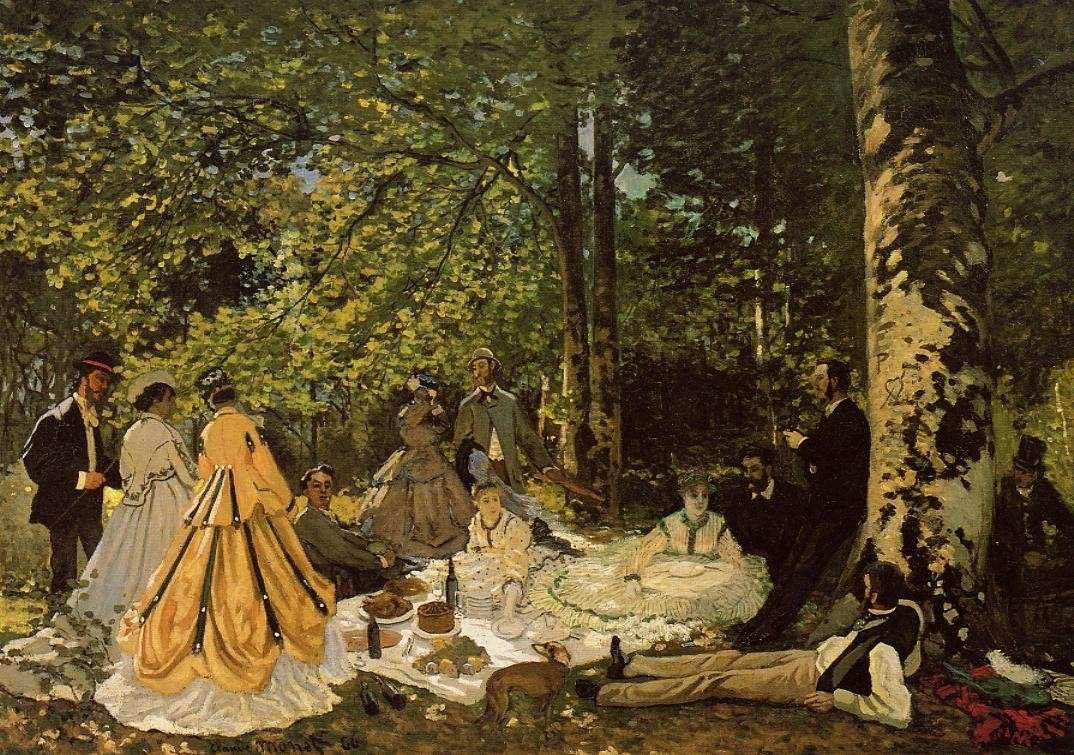 Le dèjeuner sur l'herbe, 1866