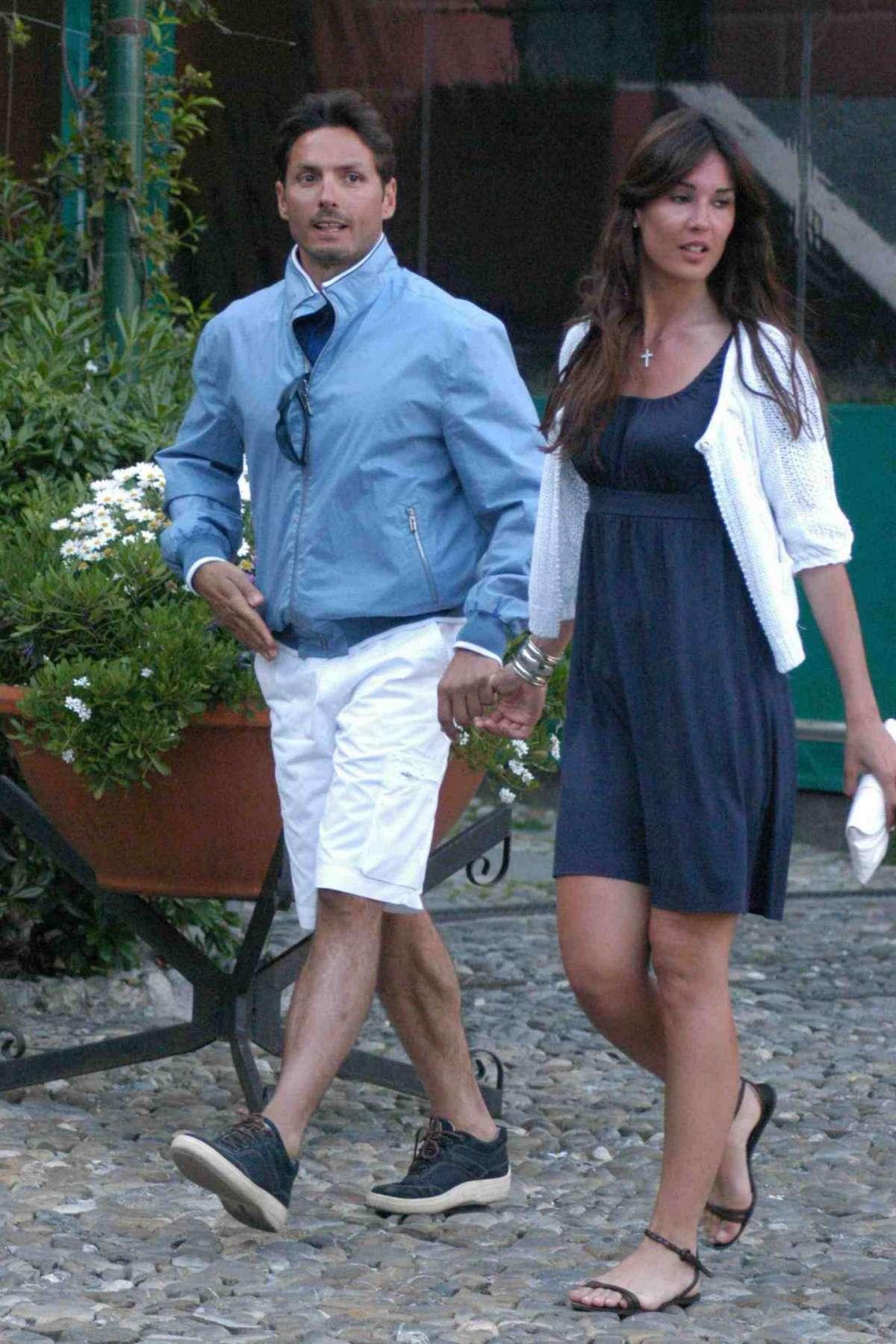 Piersilvio Berlusconi e Silvia Toffanin a spasso