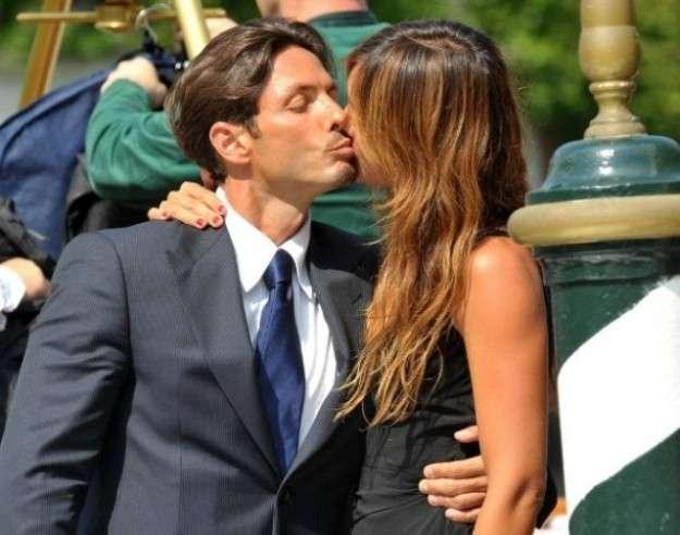 Piersilvio Berlusconi e Silvia Toffanin bacio