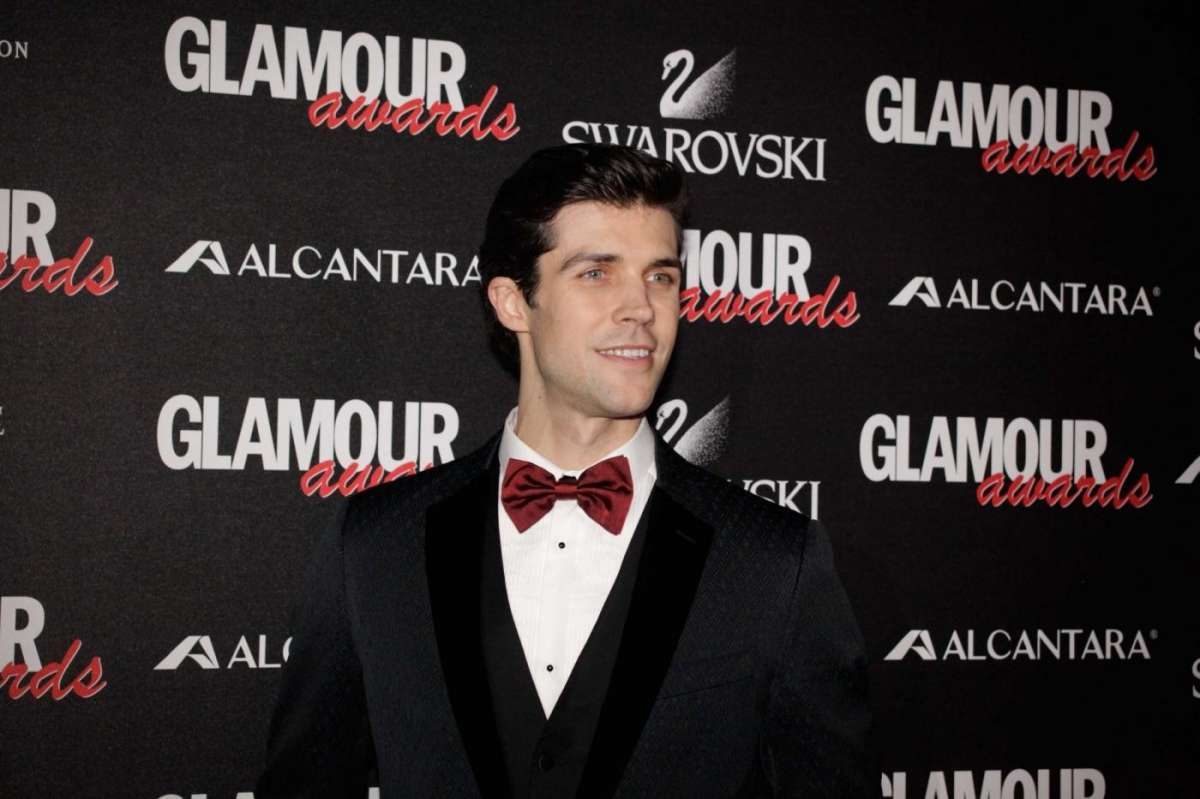Roberto Bolle ai Glamour Awards 2014