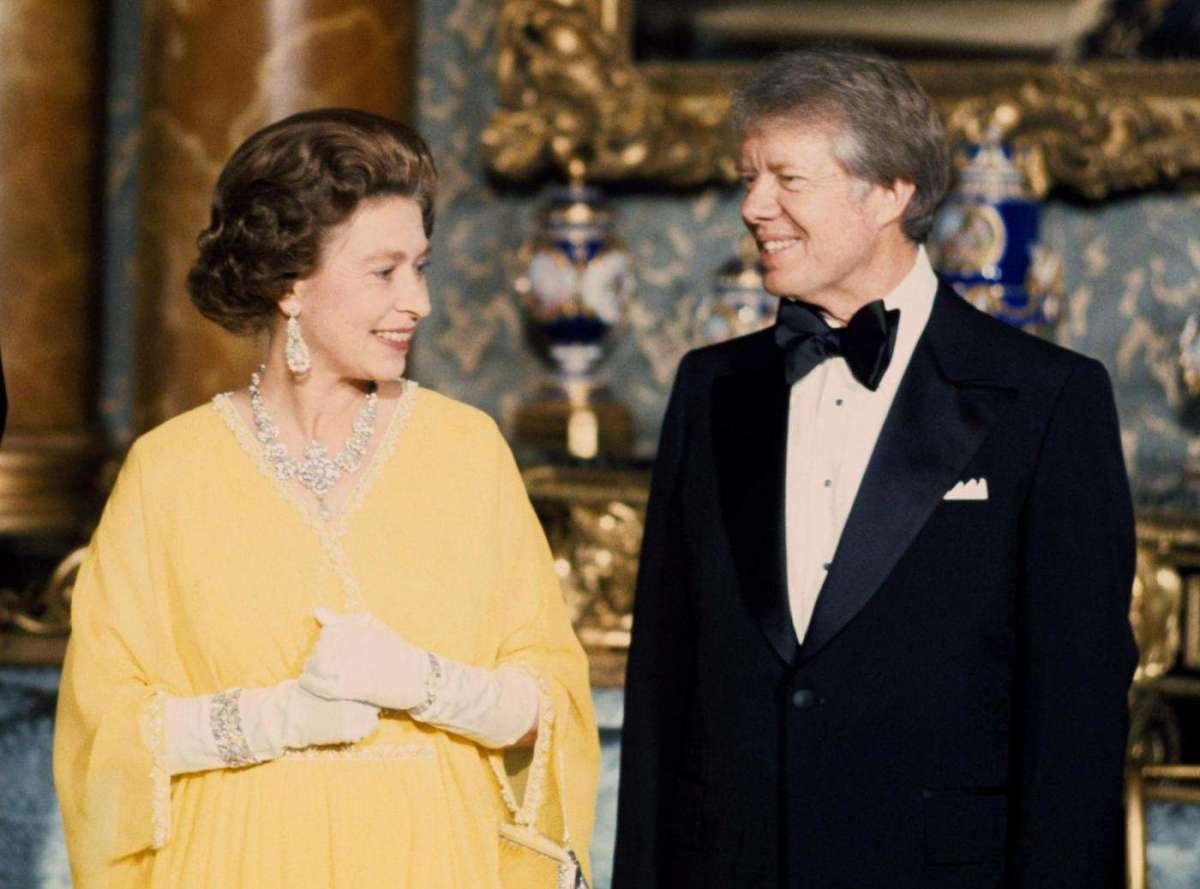 President Jimmy Carter  e la Regina
