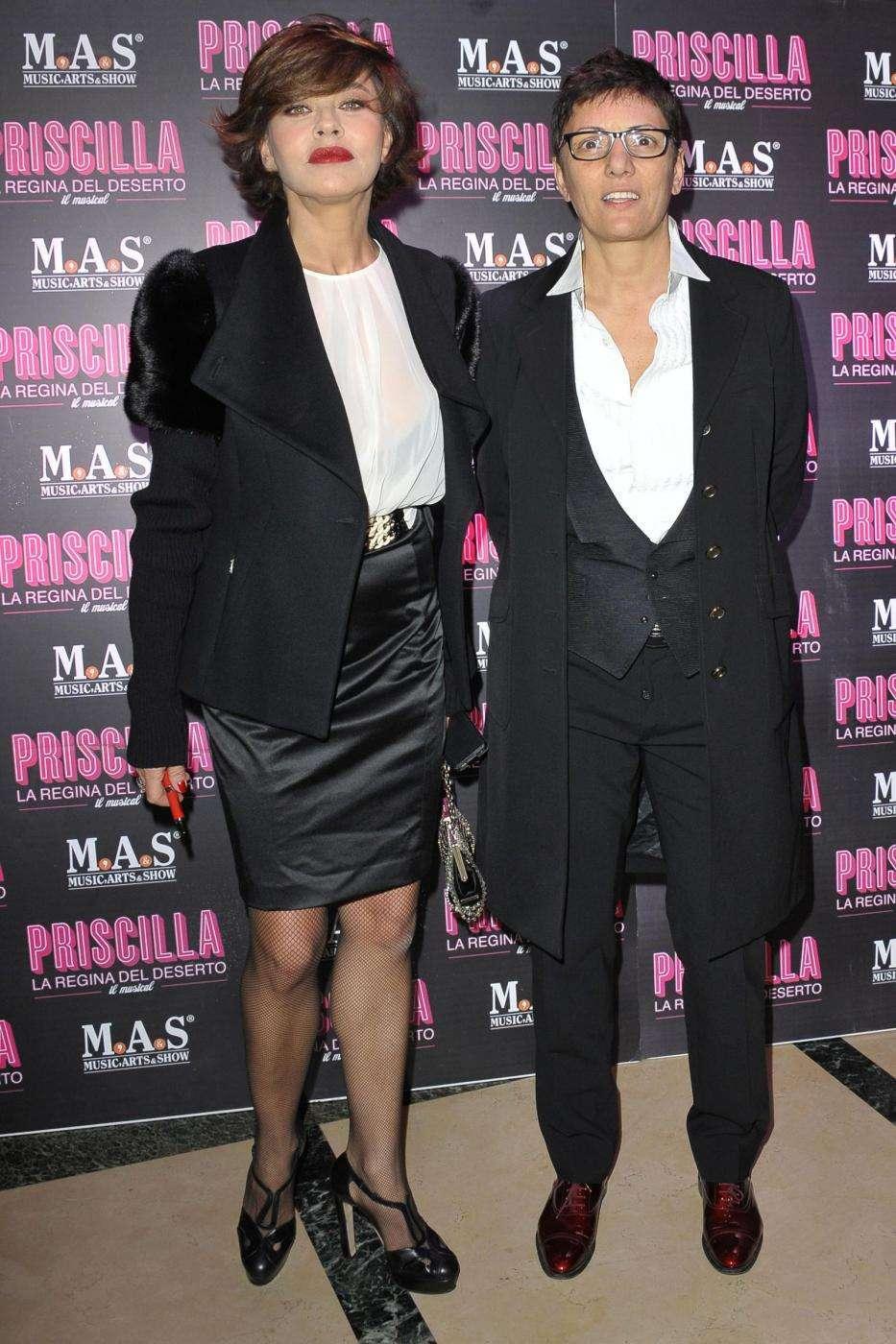 Eva Grimaldi e Imma ad un evento