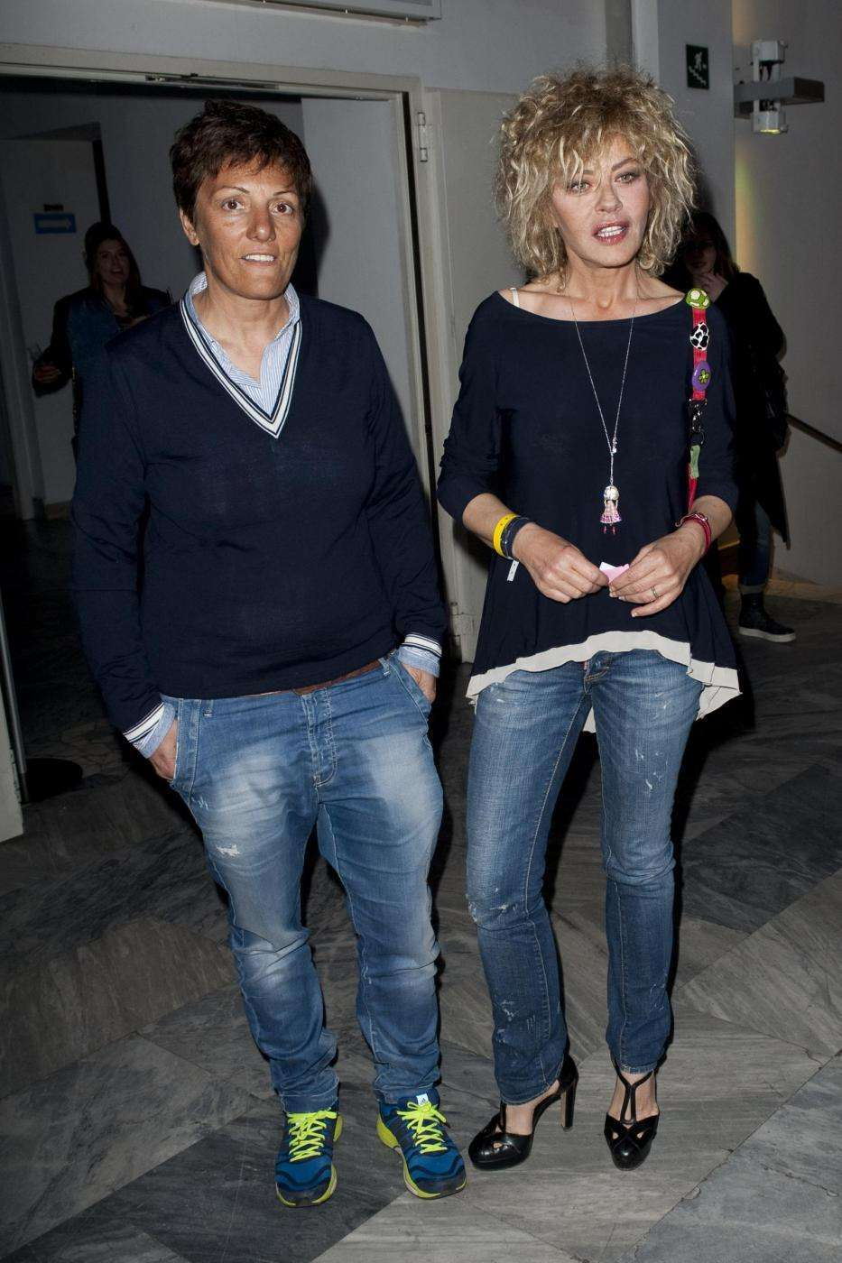 Imma Battagli ed Eva Grimaldi insieme