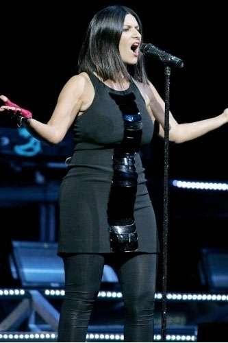 La cantante Laura Pausini