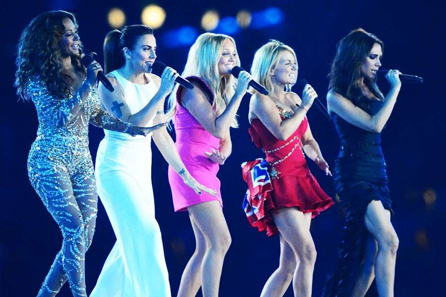 Spice Girls on stage