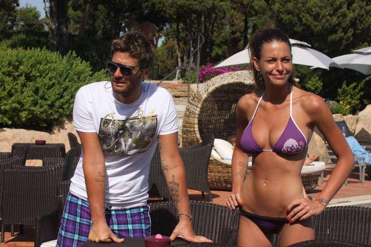 Pamela Camassa al mare con Filippo Bisciglia