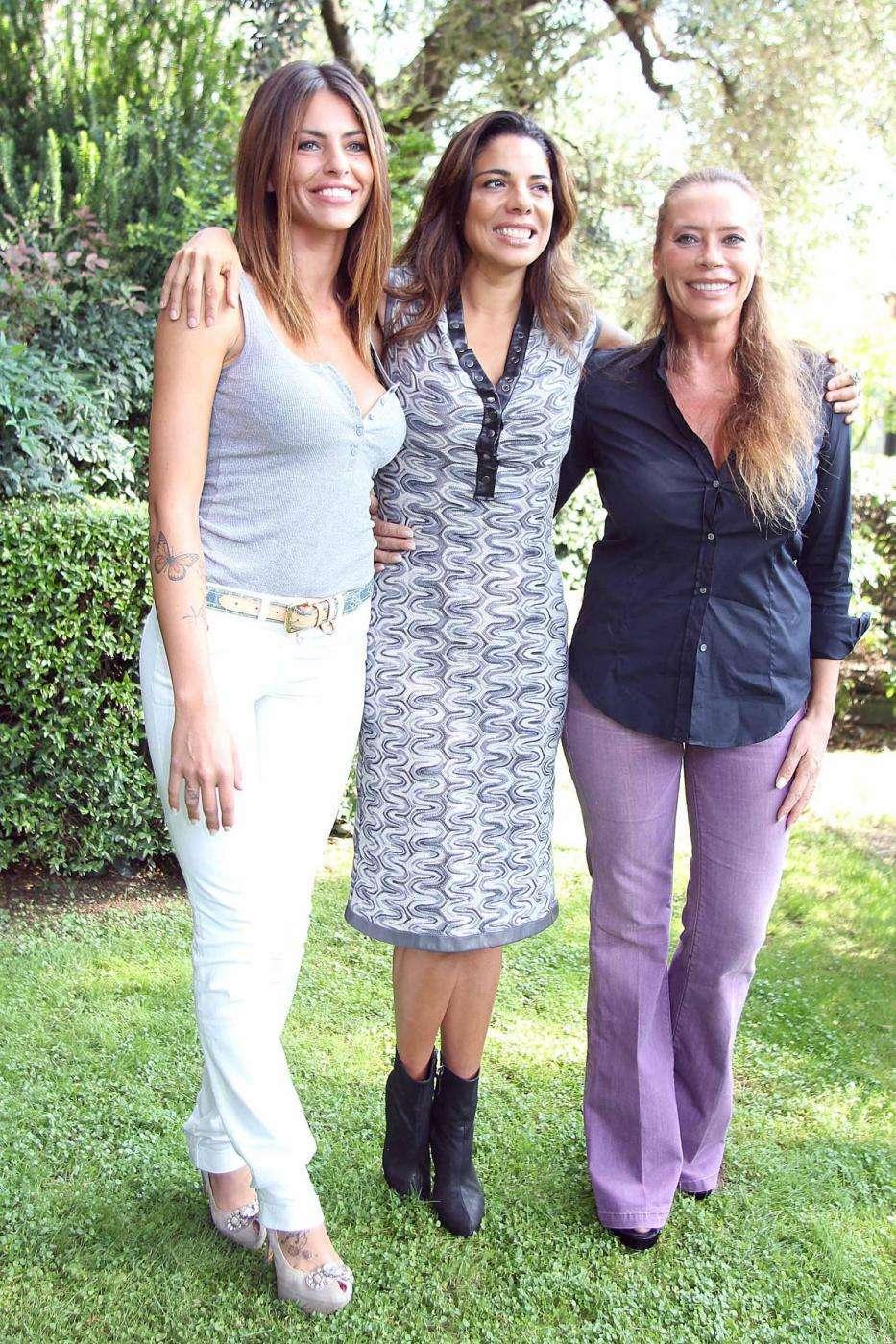 Pamela Camassa con Mietta e Barbara De Rossi