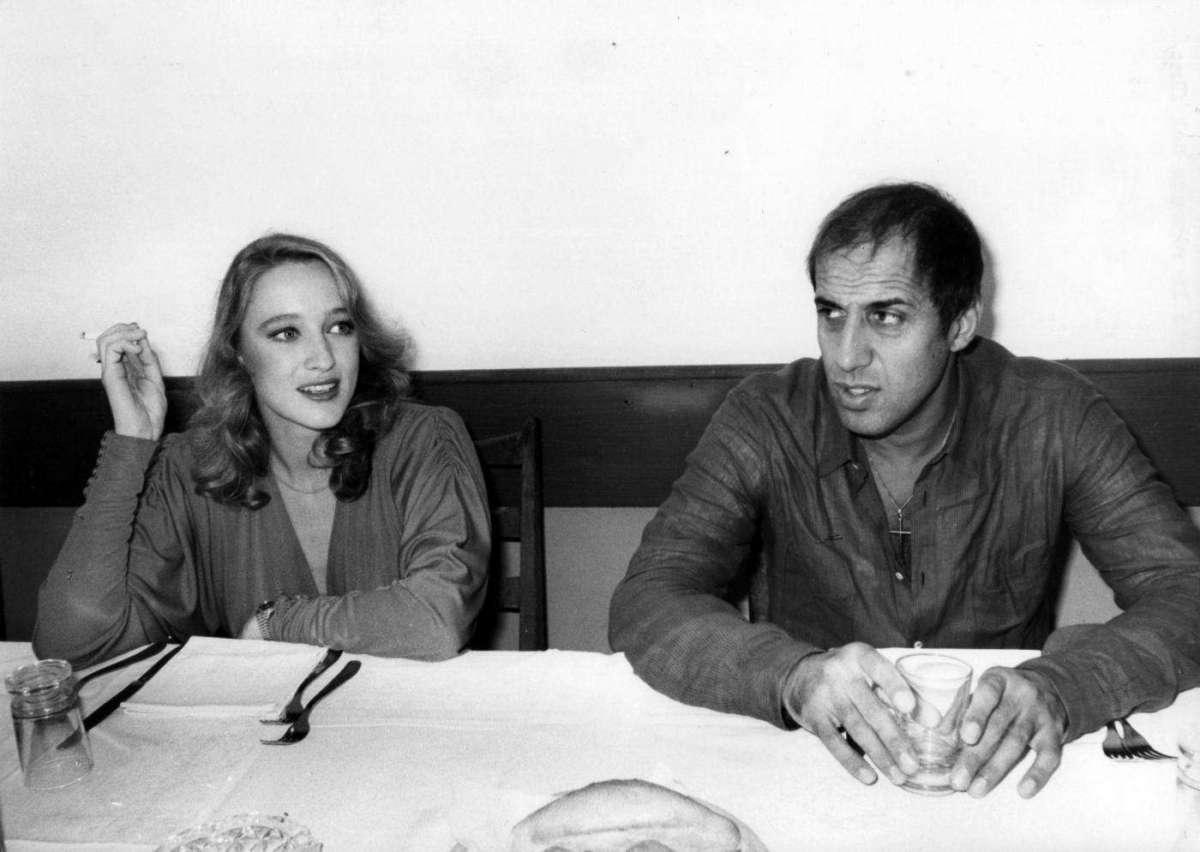 Eleonora Giorgi con Adriano Celentano