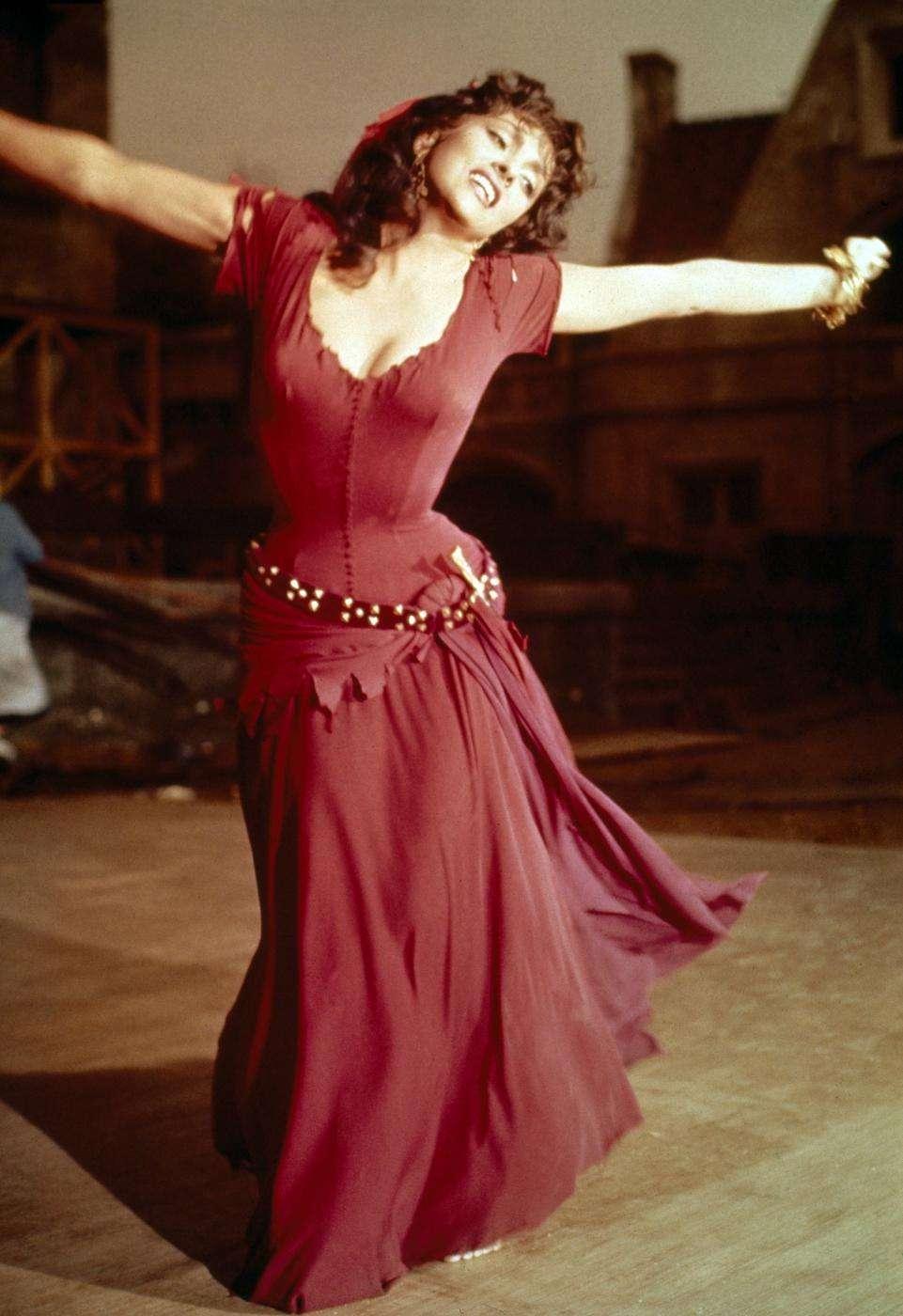 Gina Lollobrigida, attrice internazionale