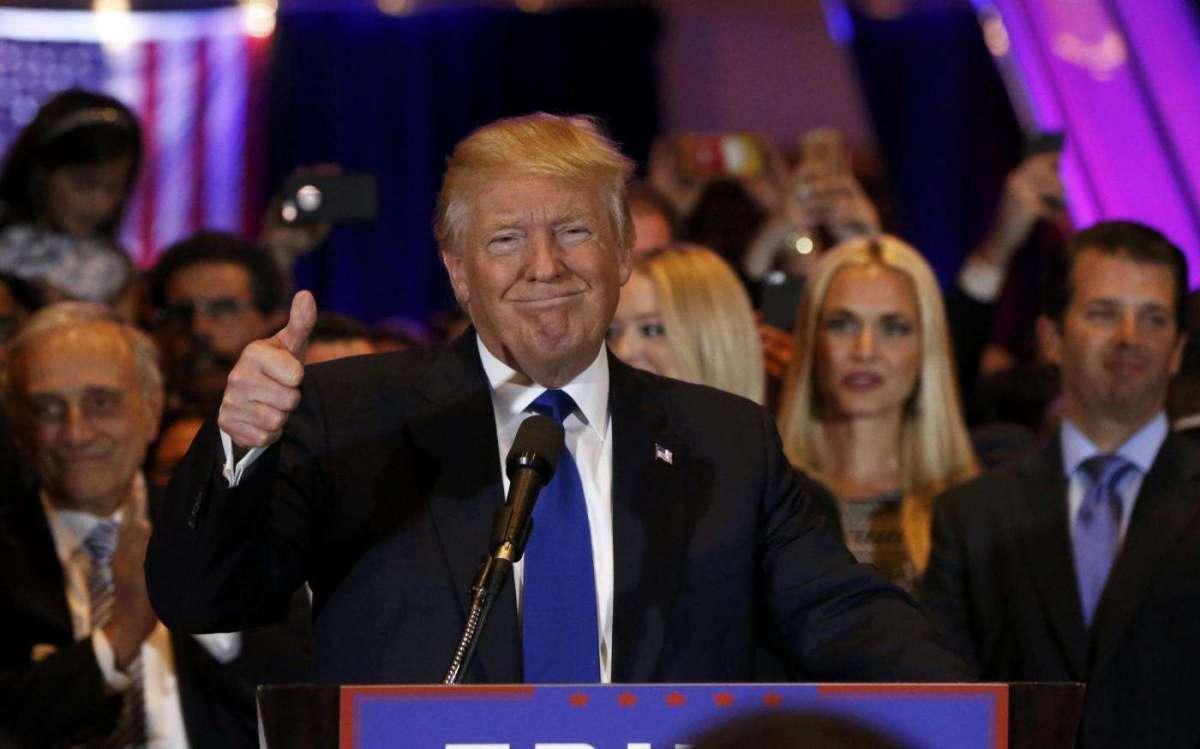 Donald Trump candidato repubblicano alle presidenziali Usa