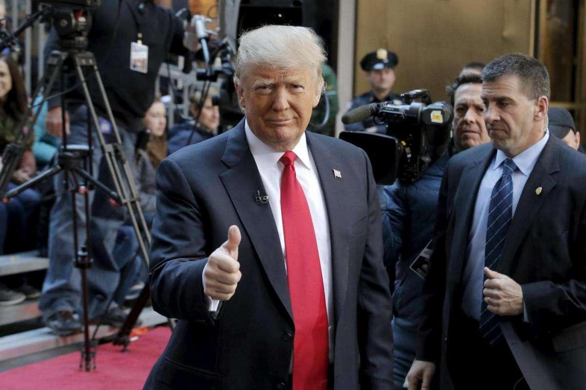 Il miliardario Donald Trump