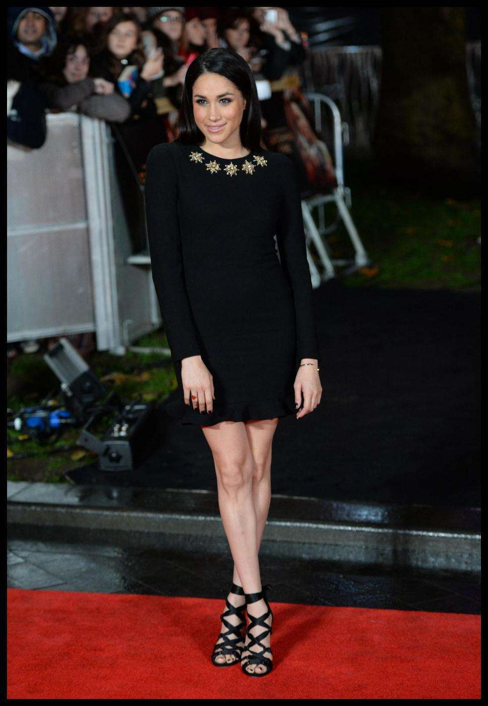 Meghan Markle alla premiere di Hunger Games