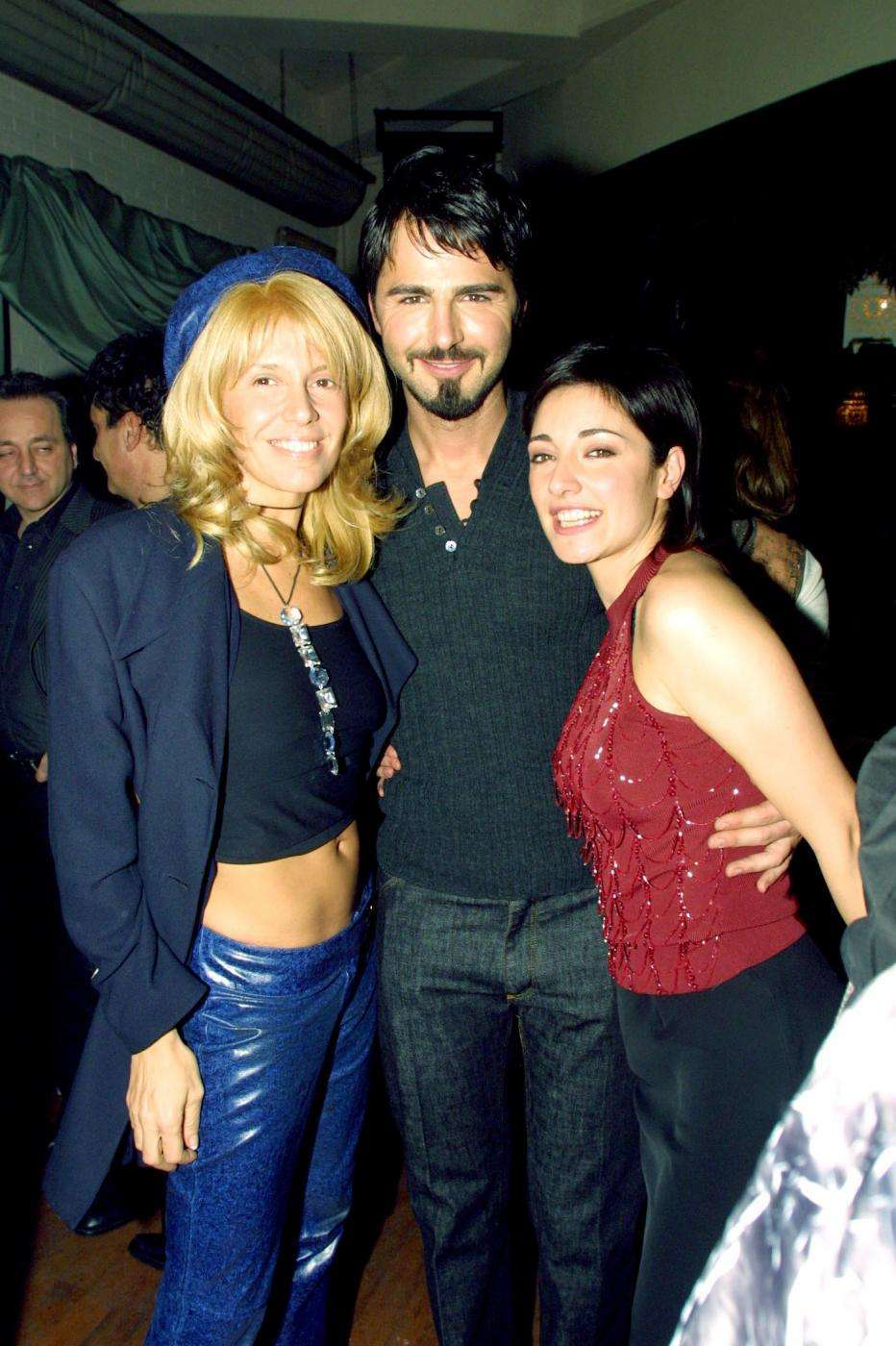Maria Teresa Ruta con Beppe Convertini e Sara Ricci