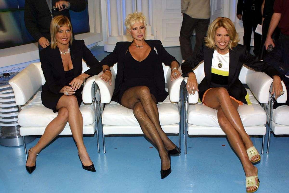 Maria Teresa Ruta con Simona Ventura e Carmen Russo