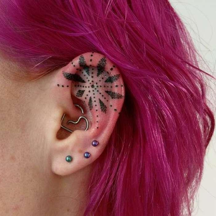 Helix tattoo stella