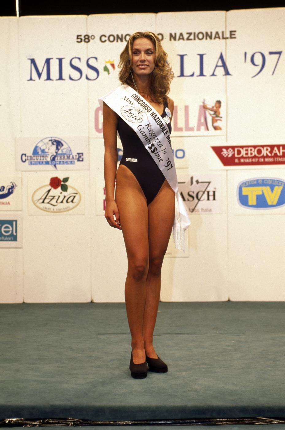 Annalisa Minetti a Miss Italia 1997