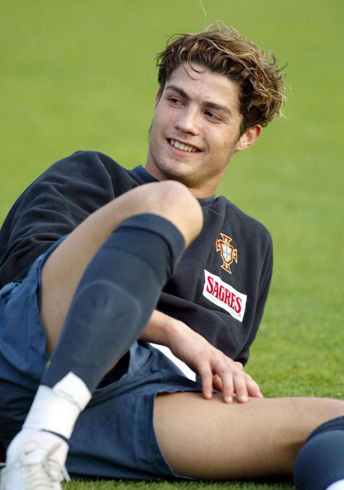 Cristiano Ronaldo nel 2004
