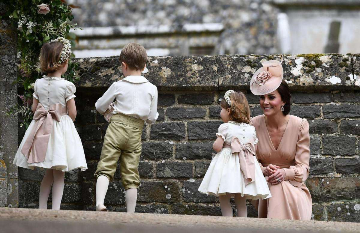 Kate Middleton al matrimonio di Pippa