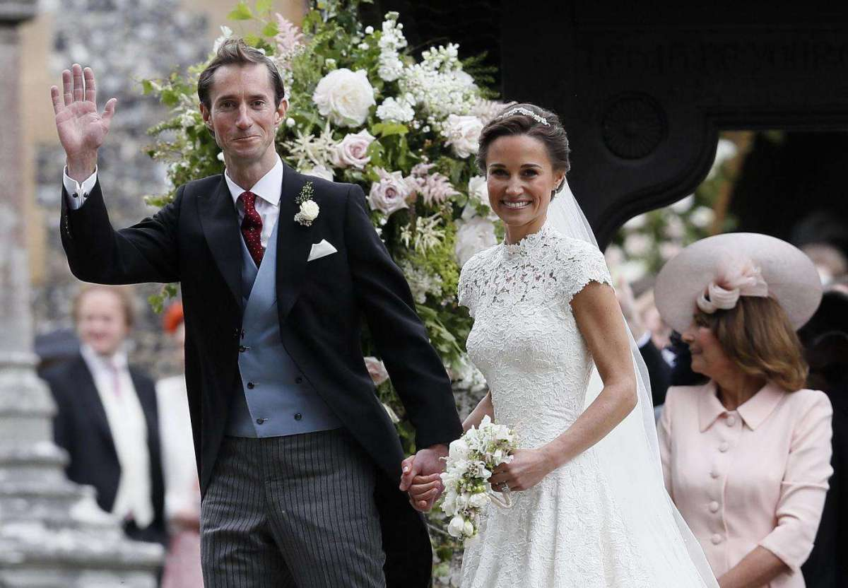 Le nozze di Pippa Middleton e James Matthews quasi un royal wedding