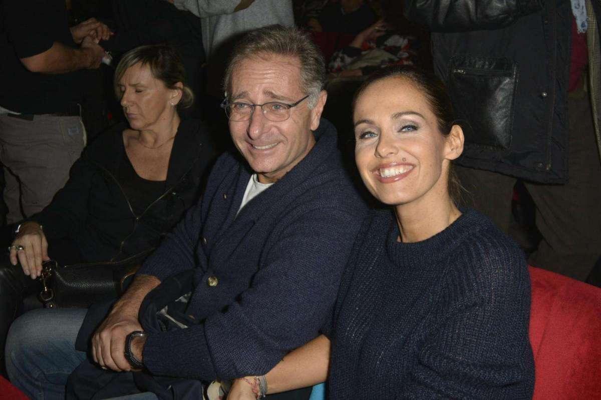Sonia Bruganelli con Paolo Bonolis