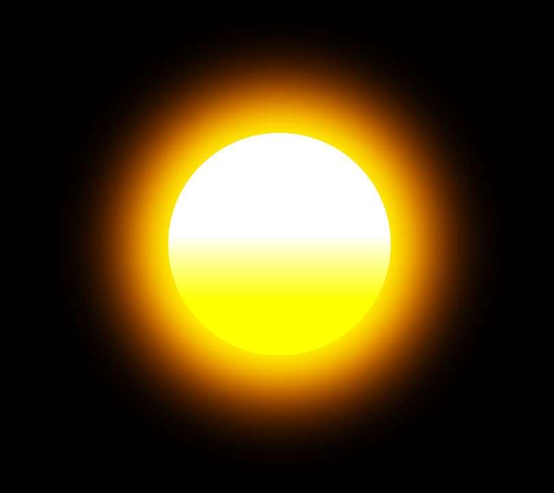 Immagine del Sole da usare per profilo WhatsApp