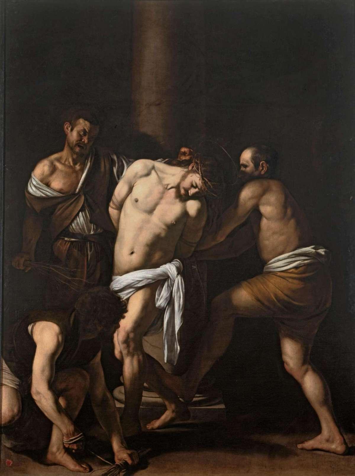 Caravaggio, Flagellazione di Cristo