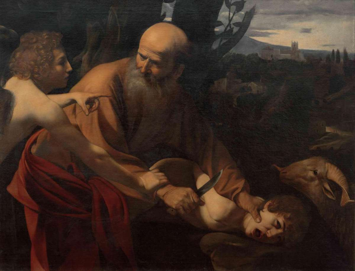 Caravaggio, le opere famose: Sacrificio di Isacco