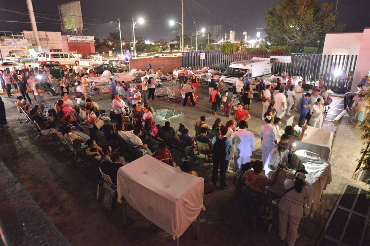 Forte sisma in Messico