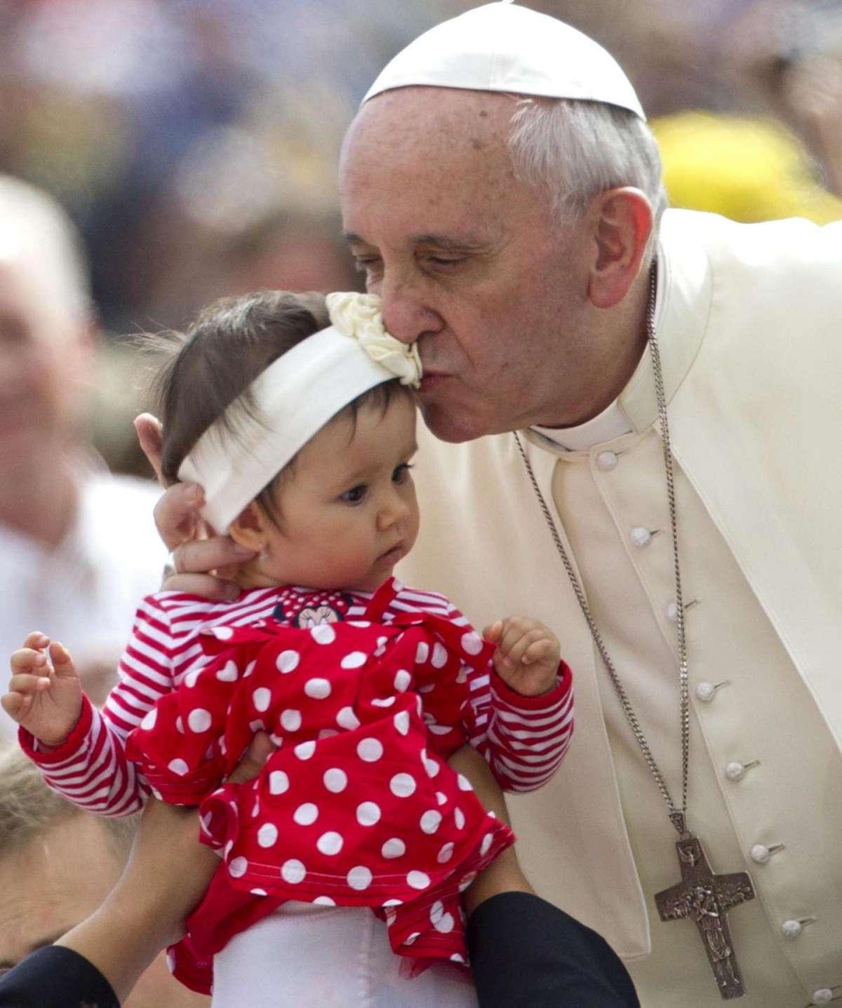 Il bacio del Papa